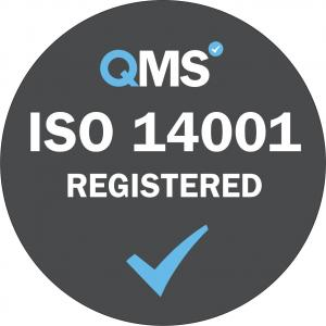ISO 14001 Registered Grey