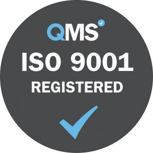 ISO 9001 Registered Grey